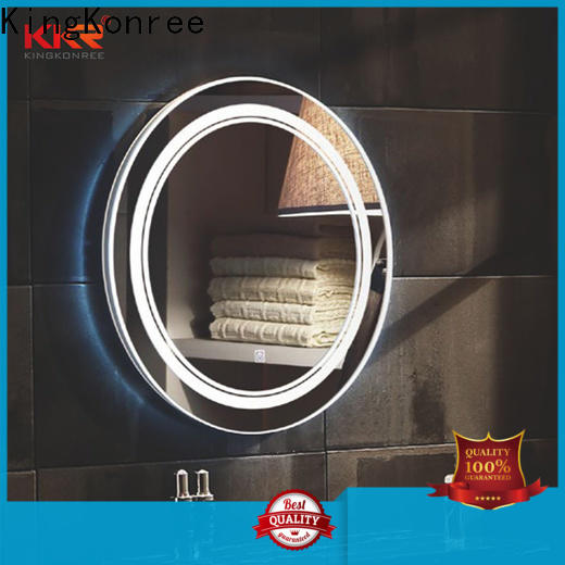 corner wall mounted mirror high-end for toilet