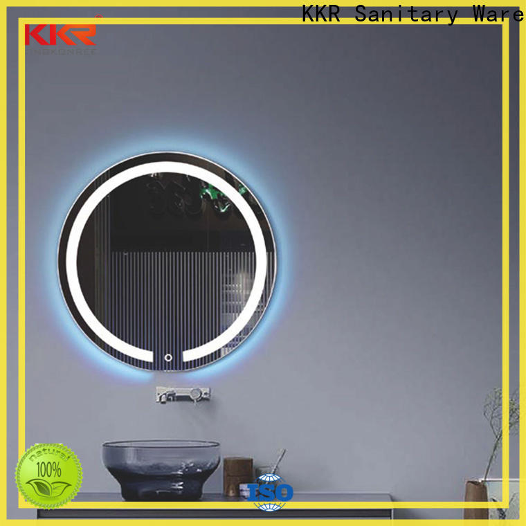 KingKonree unique mirrors customized design for toilet