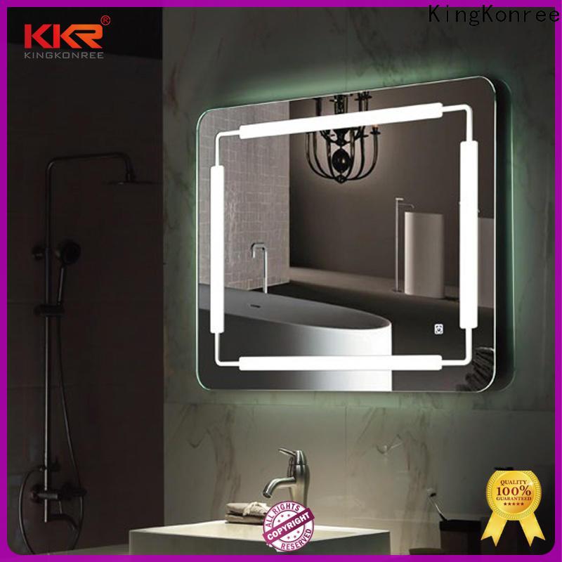 KingKonree small custom bathroom mirrors supplier for hotel