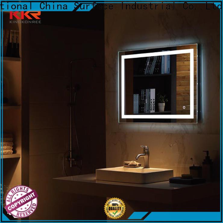 KingKonree funky mirrors supplier for toilet