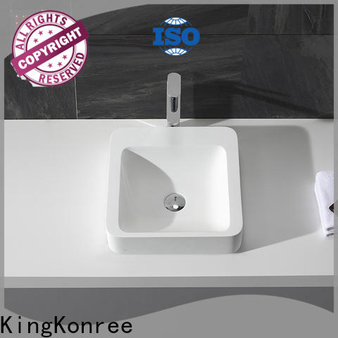 KingKonree kkr1502 top mount bathroom sink supplier for home