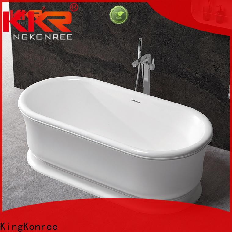 KingKonree contemporary freestanding bath ODM for hotel