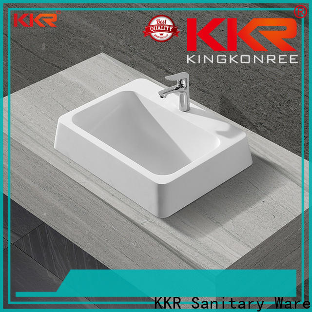 KingKonree professional corian sinks for wholesale for shower room