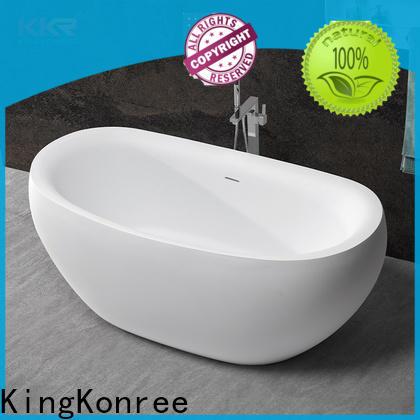 KingKonree quality bathroom freestanding tub OEM for shower room
