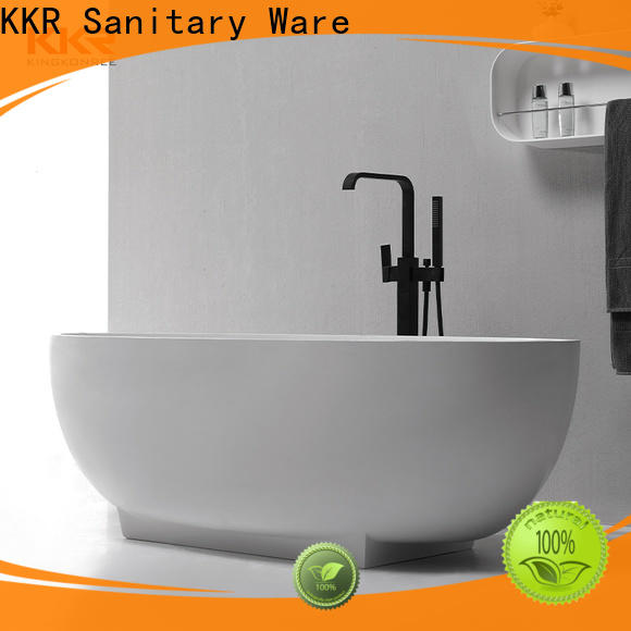durable stone resin bathtub at discount for family decoration
