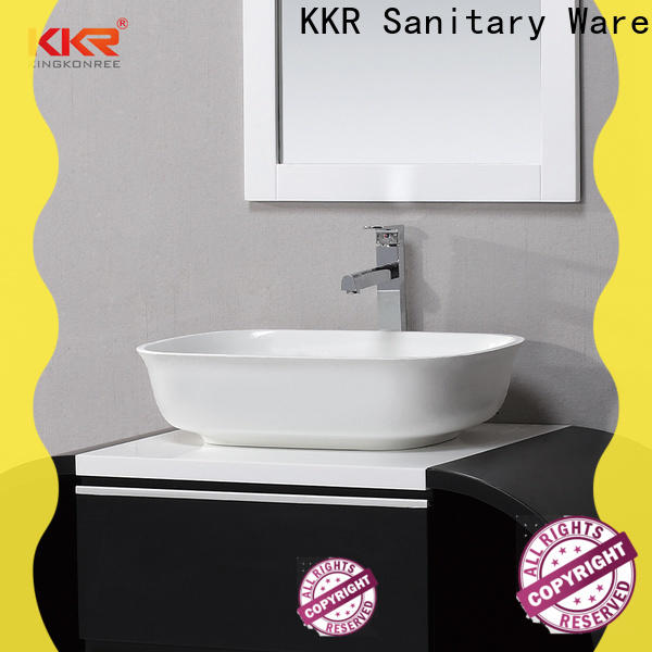 KingKonree stone vanity for wholesale for bathroom