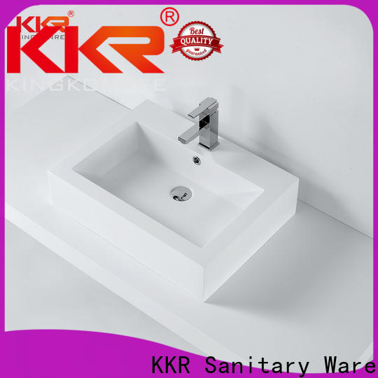 KingKonree above counter vessel sink cheap sample for home