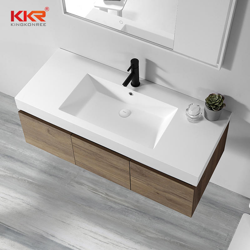 Bathroom Vanity Set Solid Surface Cabinet Basin KKR-1800