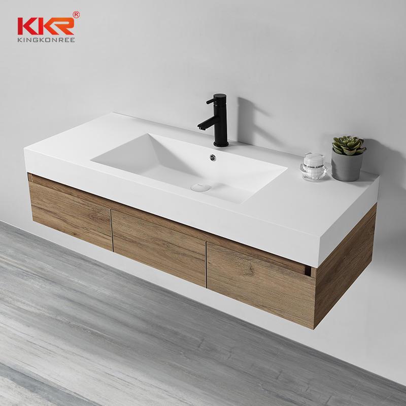 Bathroom Vanity Set Solid Surface Cabinet Basin KKR-1800