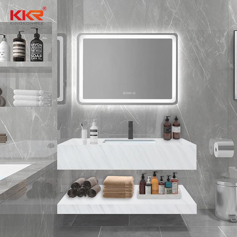 Solid Surface Marble Stone Bathroom Wall Mount Wash Basin KKR-M8810