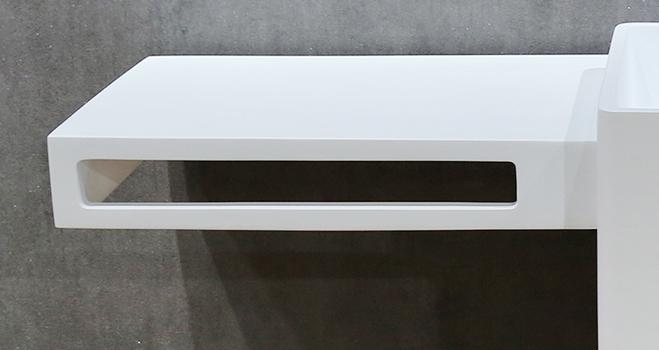 professional freestanding pedestal sink customized for motel-3