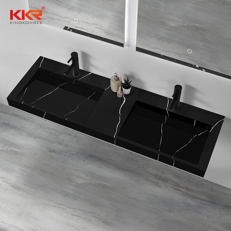 Hot Sales Europe Design Artificial Marble Solid Surface Wall Hang Basin