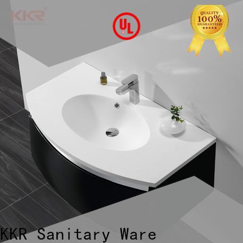KingKonree toilet basin cabinet customized for motel