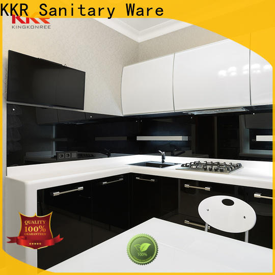 elegant solid surface kitchen worktops high-qualtiy for home