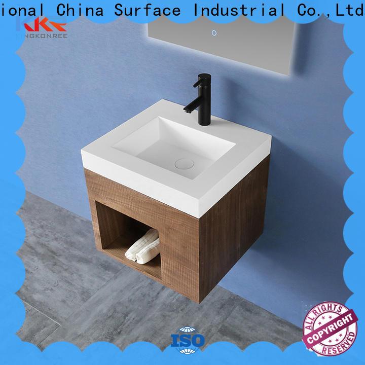 KingKonree modular basin cabinet manufacturer for bathroom