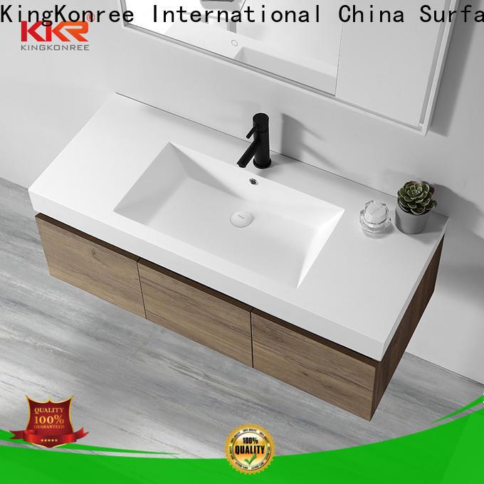 KingKonree bathroom basin and cupboard sinks for toilet