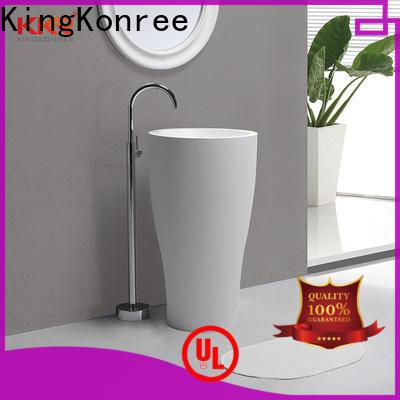 coat floor standing basin manufacturer for bathroom