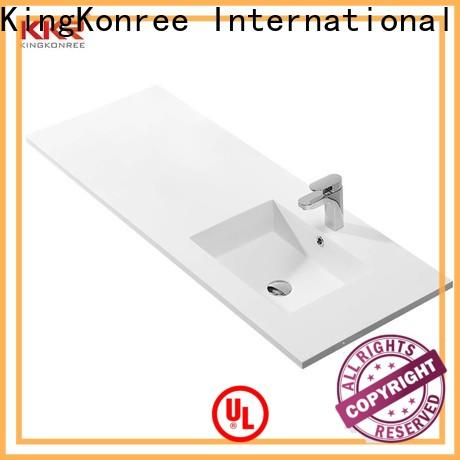 KingKonree wooden ctm bathroom basin cabinets design for toilet