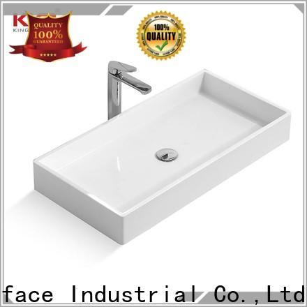 KingKonree thermoforming above counter basins cheap sample for home