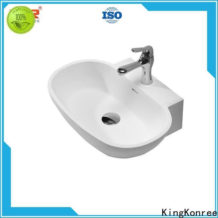 KingKonree vanity wash basin supplier for room