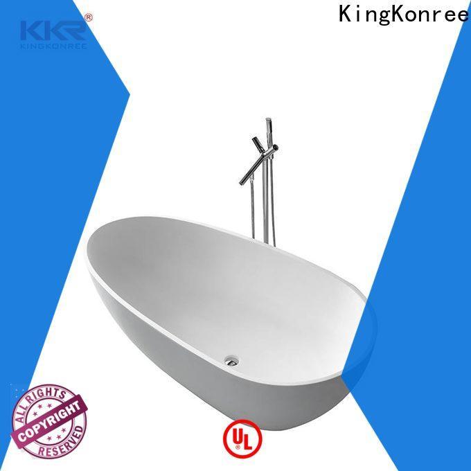KingKonree practical stand alone bathtubs for sale ODM for bathroom