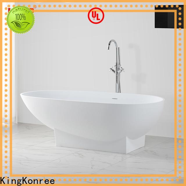 KingKonree round bathtub OEM for shower room