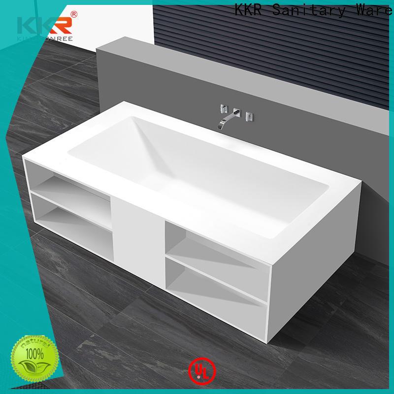KingKonree freestanding soaking bathtub supplier for bathroom