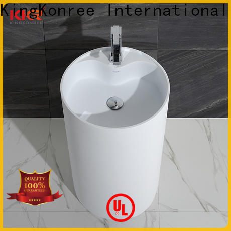 rectangle freestanding bathroom basin factory price for motel