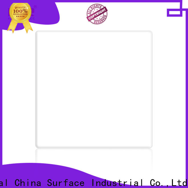 KingKonree 3660mm white solid surface countertops with good price for hotel