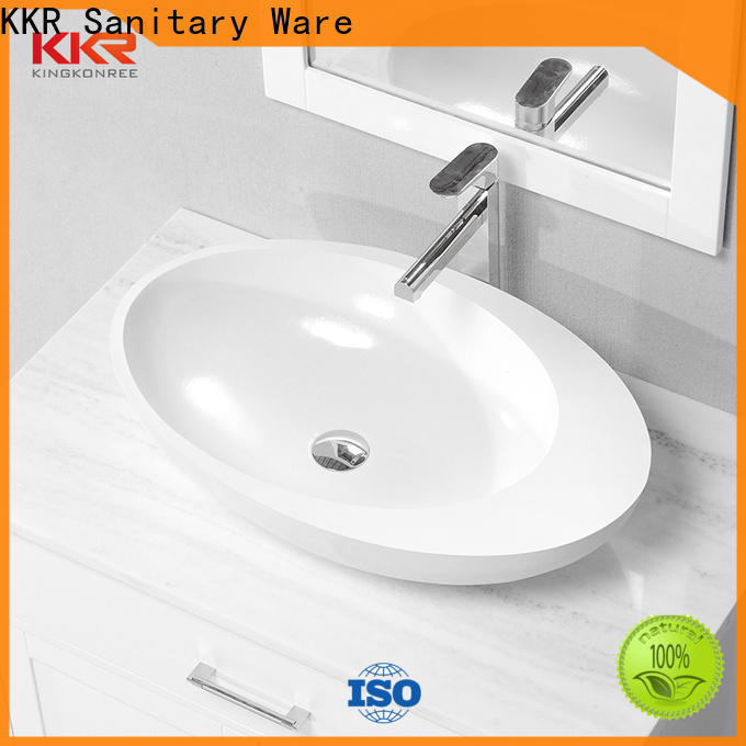 KingKonree sanitary ware bathroom countertops and sinks at discount for room