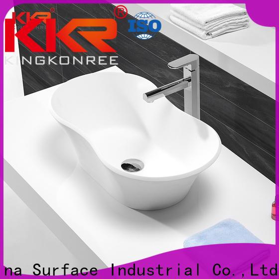 KingKonree above counter basins supplier for restaurant