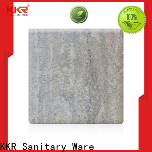 KingKonree acrylic solid surface directly sale for home