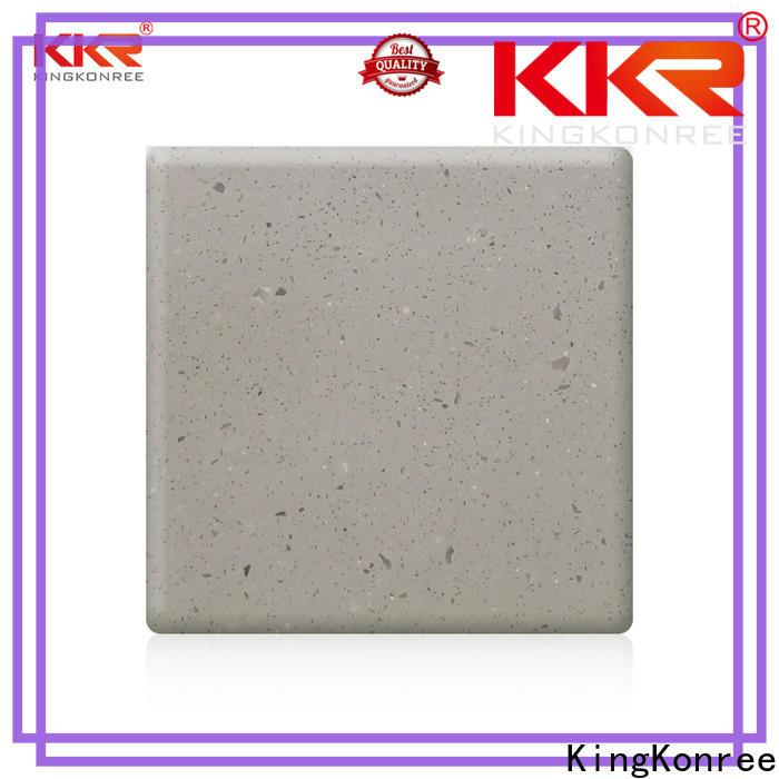 KingKonree solid stone countertops customized for room