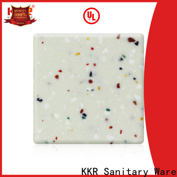 KingKonree 1220mm types of solid surface countertops manufacturer for room
