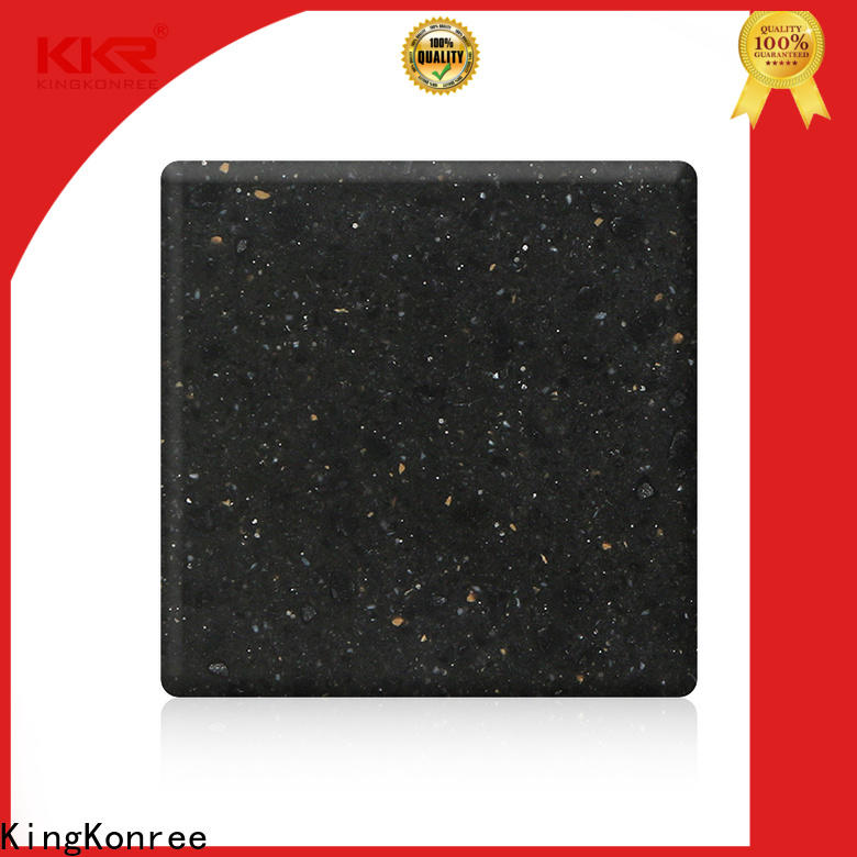 KingKonree solid surface countertop material customized for home