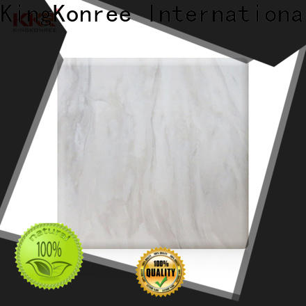 KingKonree solid surface sheets from China for home