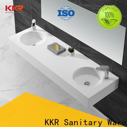 KingKonree slope stainless steel wash basin manufacturer for bathroom