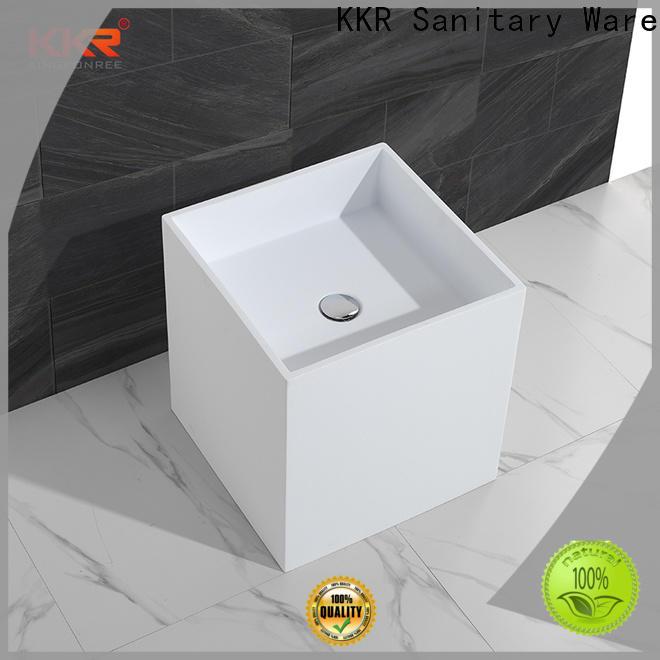 KingKonree bathroom sink stand design for hotel