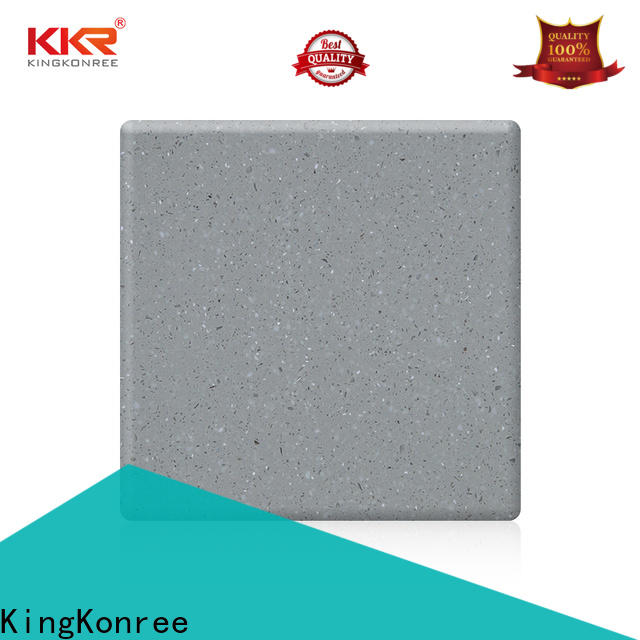 KingKonree solid surface countertops prices customized for restaurant