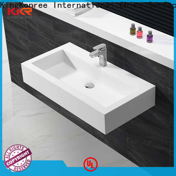 KingKonree wash basin models and price supplier for toilet