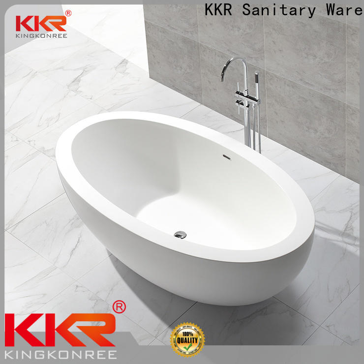 marble large freestanding bath custom for hotel