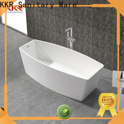 KingKonree durable modern freestanding tub custom for bathroom