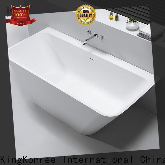 KingKonree high-quality stone bathtub ODM for family decoration