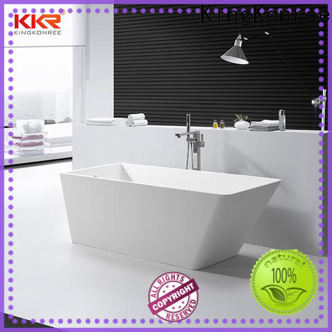 KingKonree bulk production rectangular freestanding bathtub ODM for bathroom