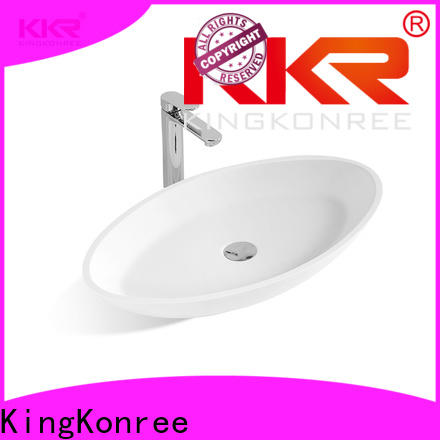 KingKonree top mount bathroom sink cheap sample for room