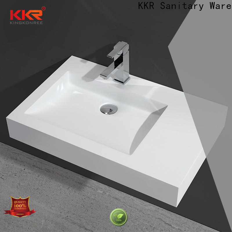 acrylic wall mounted wash basin manufacturer for home