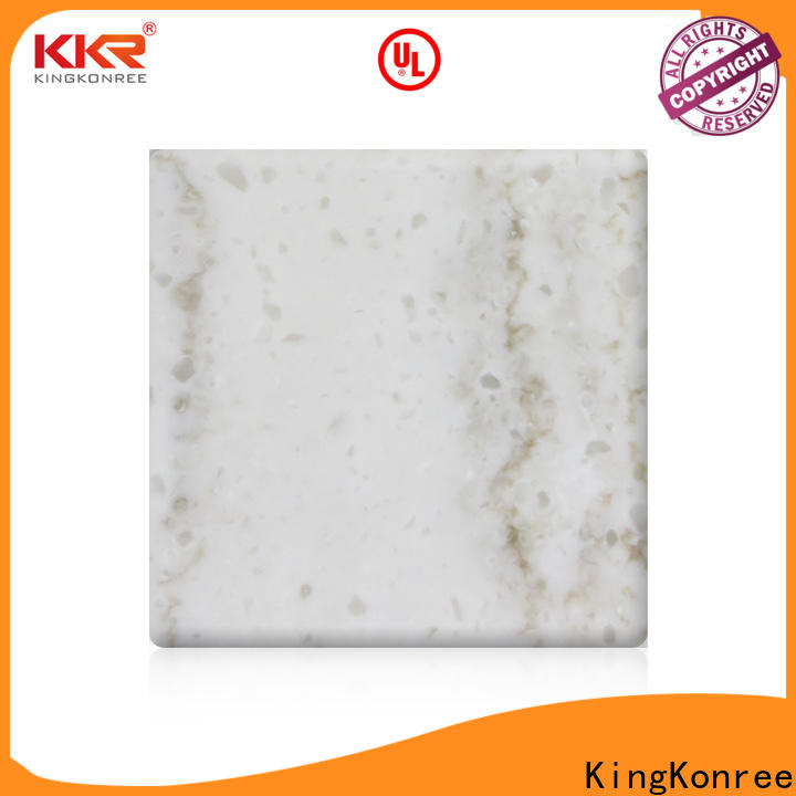 KingKonree acrylic solid surface sheet design for room