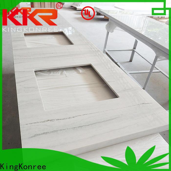 KingKonree room hard surface countertops latest design for motel
