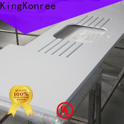 KingKonree circle solid worktops supplier for kitchen
