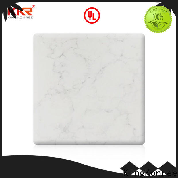 white acrylic solid surface sheet supplier for hotel